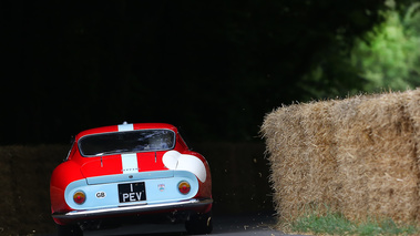Goodwood Festival of Speed 2017 - Ferrari 275 GTB rouge face arrière