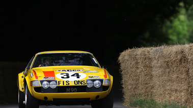 Goodwood Festival of Speed 2017 - Ferrari 365 GTB/4 Daytona Gr. IV jaune face avant