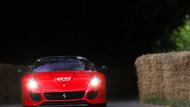 Goodwood Festival of Speed 2017 - Ferrari 599XX rouge face avant