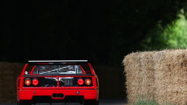Goodwood Festival of Speed 2017 - Ferrari F40 LM rouge face arrière