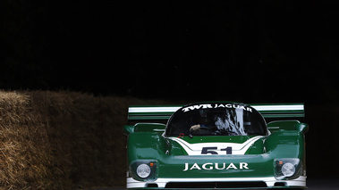 Goodwood Festival of Speed 2017 - Jaguar XJR-6 vert face avant 2