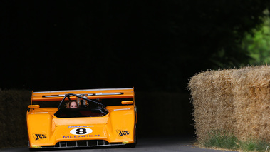 Goodwood Festival of Speed 2017 - McLaren orange face avant 2