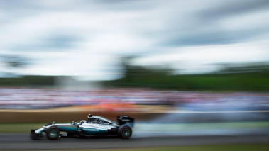 Goodwood Festival of Speed 2017 - Mercedes F1 filé