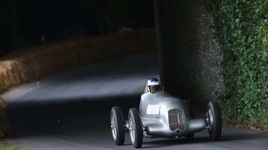 Goodwood Festival of Speed 2017 - Mercedes gris 3/4 avant droit 3
