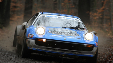 Ferrari 308, bleu, action face 2
