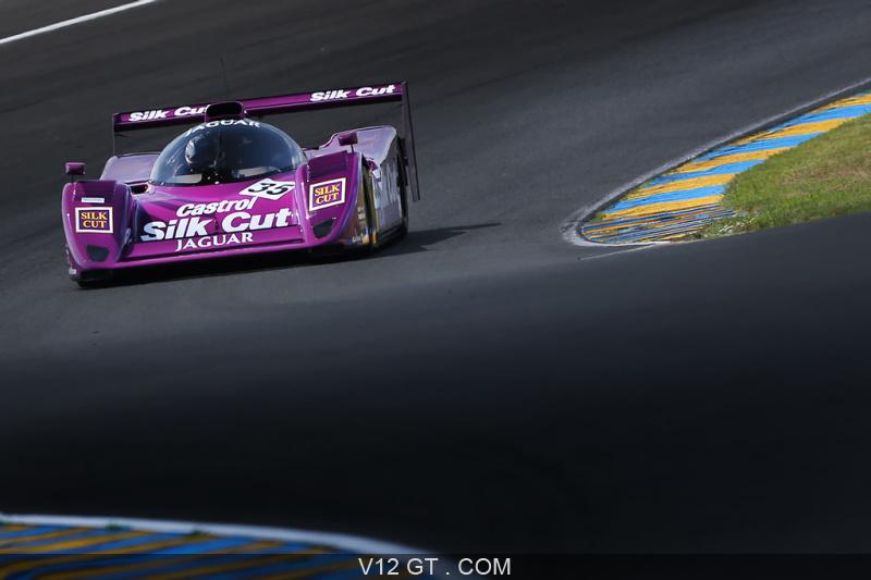 Le Mans Classic 2018 - Jaguar XJR-14 Silk Cut face avant ...