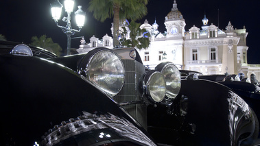 Serenissima Louis Vuitton Classic Run 2012 - Mercedes noir phares avant
