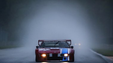 Spa Classic 2017 - BMW M1 Procar rouge face avant