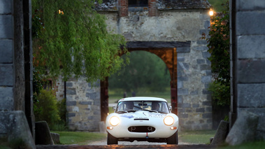 Tour Auto 2017 - Jaguar Type E Lightweight blanc face avant
