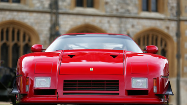Windsor Castle Concours of Elegance 2016 - Ferrari 288 GTO Evoluzione rouge face avant