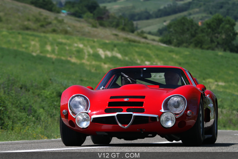 alfa romeo tz2 rouge 3 4 avant gauche alfa romeo photos classic les plus belles photos de. Black Bedroom Furniture Sets. Home Design Ideas