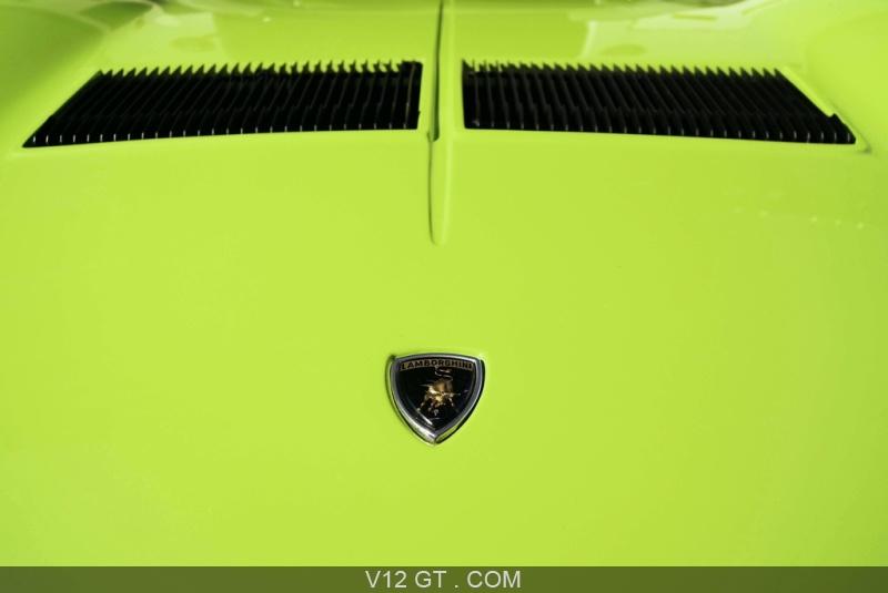 Lamborghini Miura S Vert Logo Capot 2 Lamborghini Photos Classic