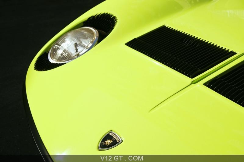 Lamborghini Miura S Vert Logo Capot Lamborghini Photos Classic