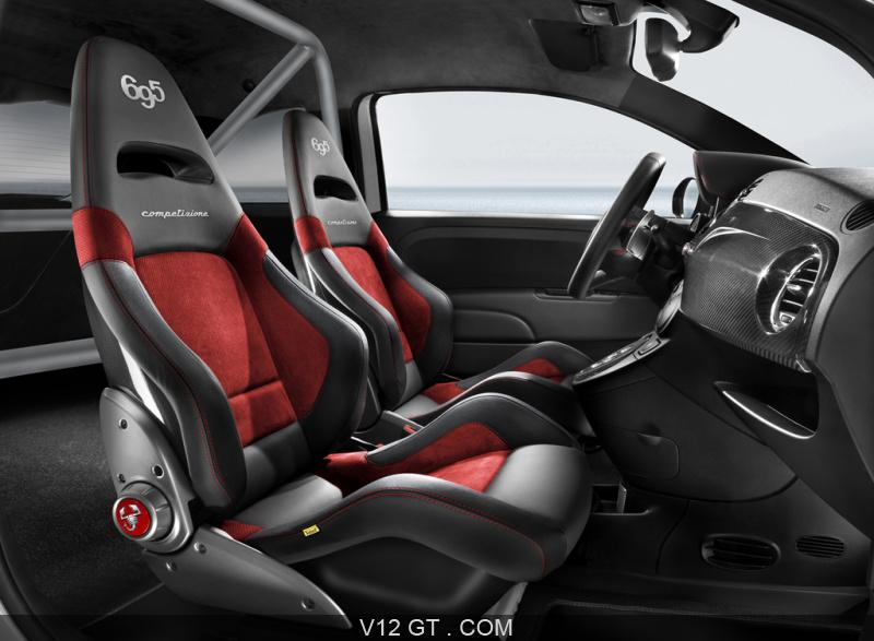 Nouveaut fiat 500 cabrio italia et abarth 695 for Interieur 500 abarth