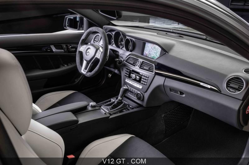 Mercedes C63 AMG Coupe Edition 507 anthracite satiné intérieur / AMG ...