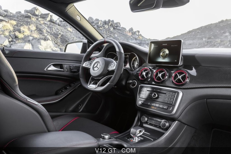 fiche technique de la mercedes cla 45 amg shooting brake. Black Bedroom Furniture Sets. Home Design Ideas