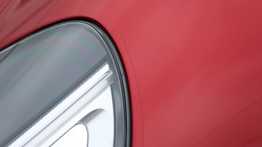 Aston Martin DB9 rouge film protection