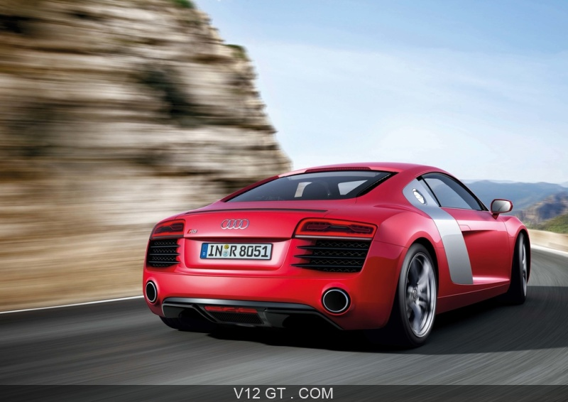 audi r8 mkii rouge 3 4 arri re droit travelling audi photos gt les plus belles photos de. Black Bedroom Furniture Sets. Home Design Ideas