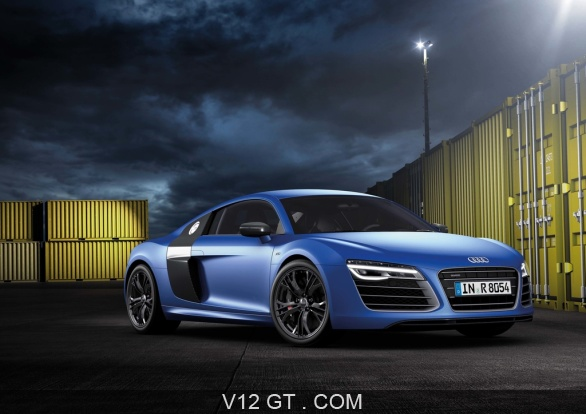 audi r8 v10 plus bleu mate 3 4 avant droit audi photos gt les plus belles photos de gt et. Black Bedroom Furniture Sets. Home Design Ideas