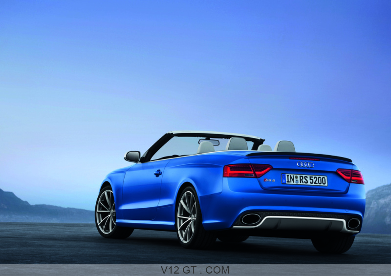fiche technique de l 39 audi rs5 cabriolet. Black Bedroom Furniture Sets. Home Design Ideas