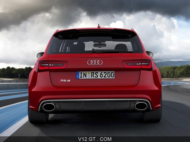 La Nouvelle Audi Rs6 Avant Adopte Un Moteur V8 De 560