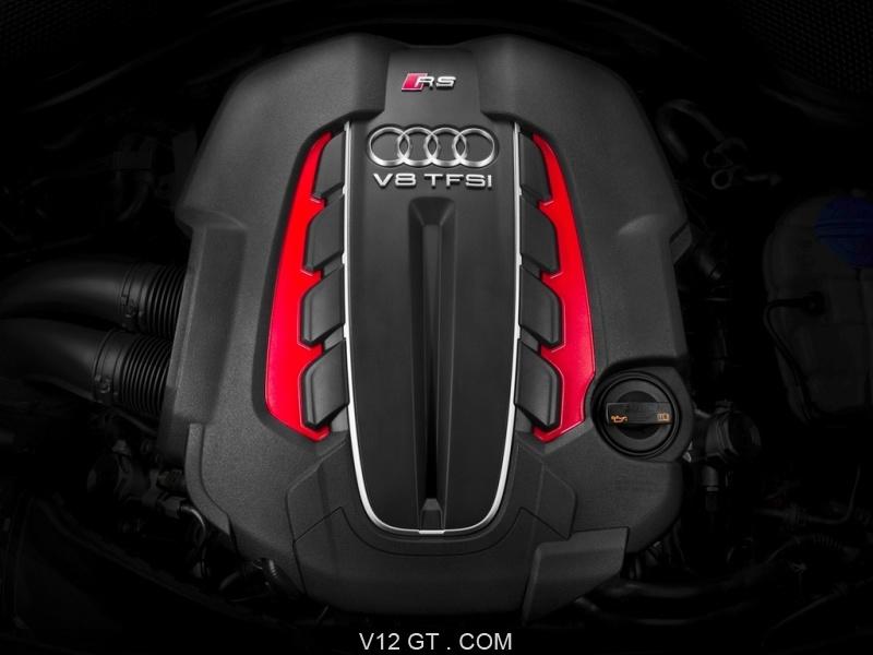 La nouvelle audi rs6 avant adopte un moteur v8 de 560 for Interieur paupiere inferieure rouge