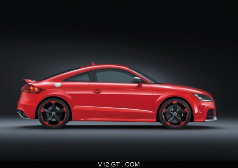 audi tt rs plus rouge profil droit audi photos gt les plus belles photos de gt et de. Black Bedroom Furniture Sets. Home Design Ideas