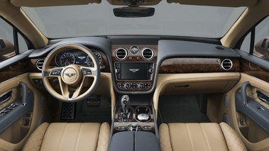Bentley Bentayga - Bronze - Habitacle 1