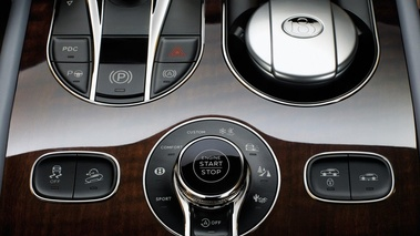 Bentley Bentayga - Bronze - Habitacle, commandes console centrale