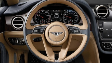 Bentley Bentayga - Bronze - Habitacle, volant