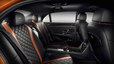 Bentley Flying Spur W12 S orange intérieur 2