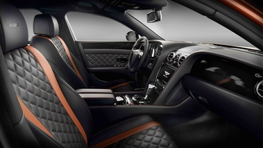 Bentley Flying Spur W12 S orange intérieur