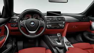 BMW 435i Cabrio - anthracite - habitacle 1
