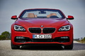 BMW 650i 2015 Cabrio - Rouge - Face avant