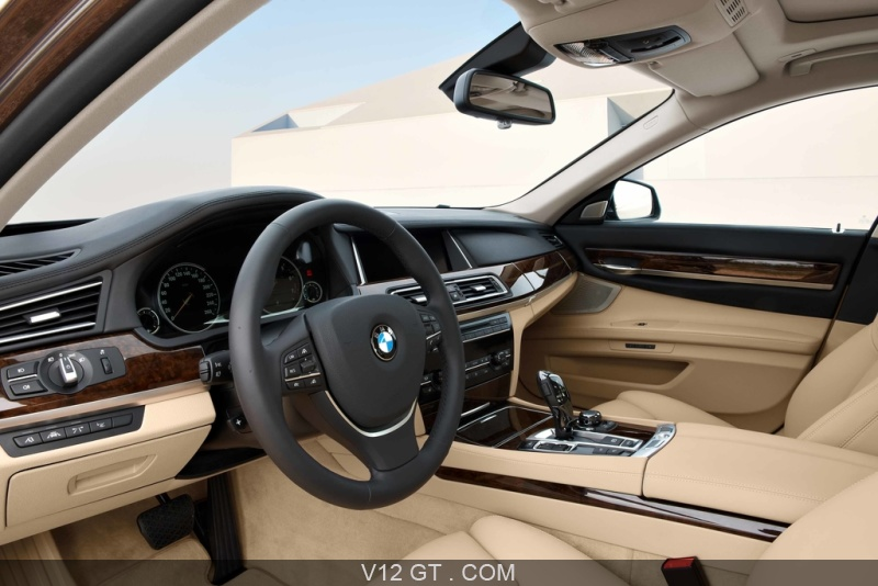 BMW 750Li MY2012 marron intérieur / BMW / Photos GT / Les plus ...