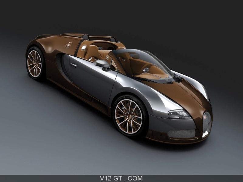 bugatti veyron grand sport carbone bronze 3 4 avant droit. Black Bedroom Furniture Sets. Home Design Ideas