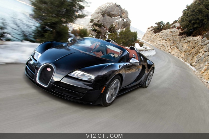 fiche technique de la bugatti veyron grand sport vitesse. Black Bedroom Furniture Sets. Home Design Ideas