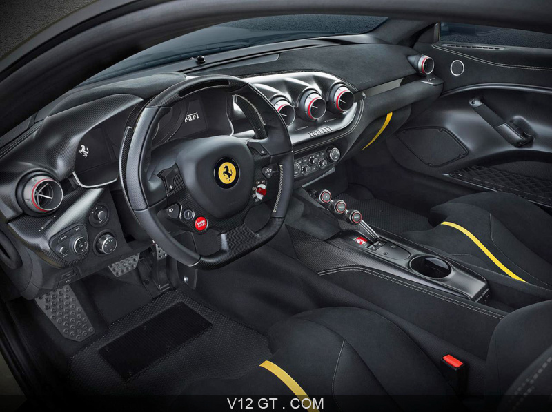 ferrari a d voil le f12 tdf version la plus aboutie de sa f12 berlinetta dont le v12 offre 780. Black Bedroom Furniture Sets. Home Design Ideas