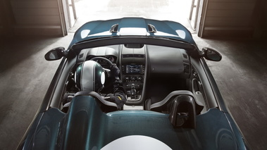 Jaguar F-Type Project 7 - bleue - cockpit