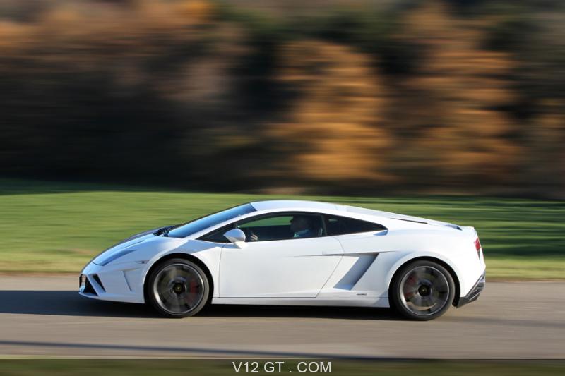 Lamborghini Gallardo LP560 4 MkII Blanc Filé