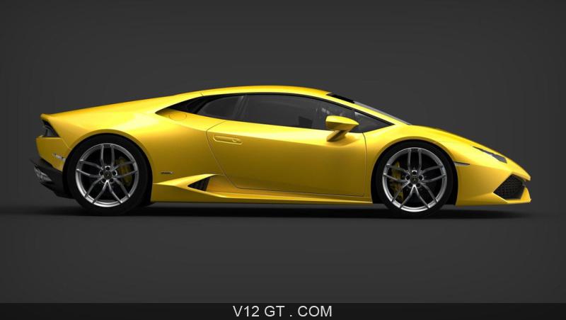Fiche Technique De La Lamborghini Huracan Lp610 4