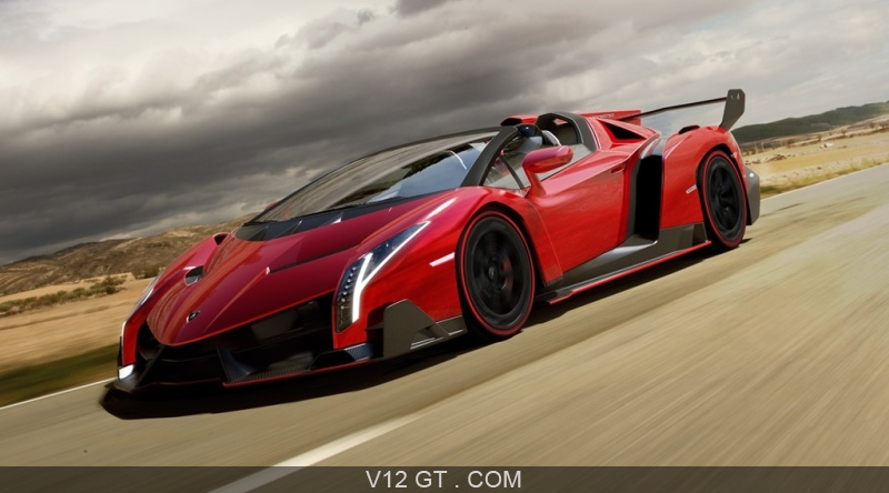 fiche technique de la lamborghini veneno roadster. Black Bedroom Furniture Sets. Home Design Ideas