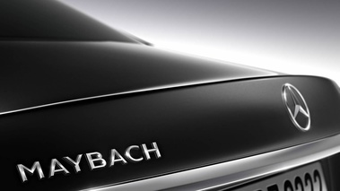 Maybach Mercedes S600 - Noir - Logo