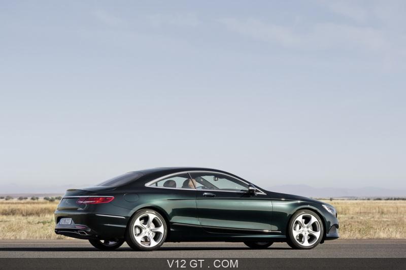 Mercedes S Klase Coupe Historia