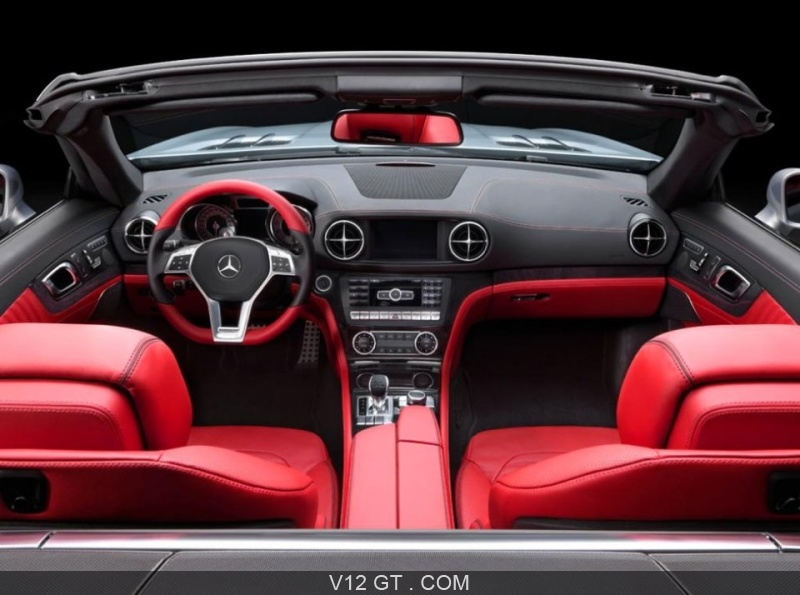 mercedes sl r231 argent tableau de bord rouge noir mercedes benz photos gt les plus. Black Bedroom Furniture Sets. Home Design Ideas