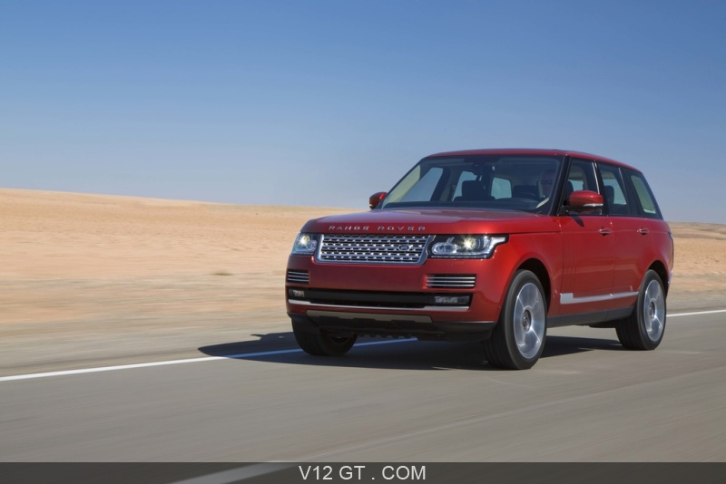 range rover my2013 rouge 3 4 avant gauche travelling range rover photos gt les plus belles. Black Bedroom Furniture Sets. Home Design Ideas
