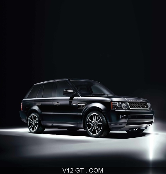 range rover sport supercharged limited edition noir 3 4 avant droit range rover photos gt. Black Bedroom Furniture Sets. Home Design Ideas