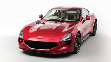 TVR Griffith 2018 rouge 3/4 avant gauche