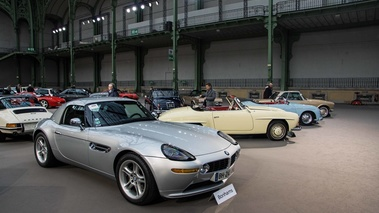 Bonhams - Paris 2018 - BMW Z8 gris 3/4 avant droit