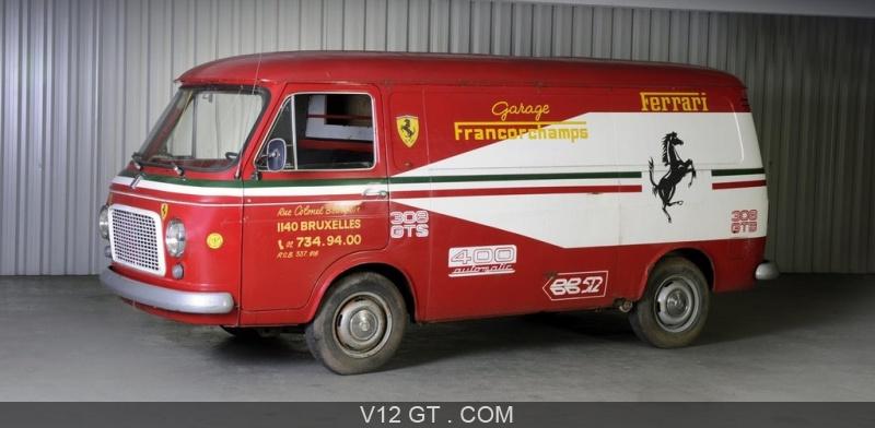 camionnette fiat rouge garage francorchamps 3 4 avg bonhams paris photos salons les. Black Bedroom Furniture Sets. Home Design Ideas